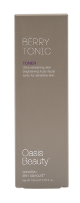 "Skin Brightening ""Berry Tonic"" Facial Toner Front of Box"
