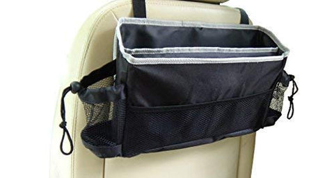 JACO HangPro Car Seat Organizer - Premium Seat Back / Front Seat Travel Caddy