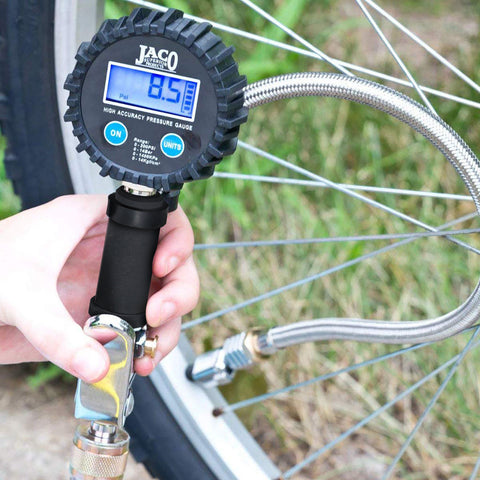 FlowPro™ Digital Tire Inflator with Pressure Gauge - 200 PSI