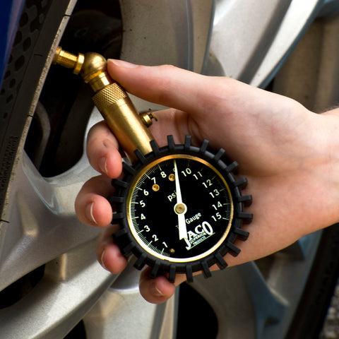 Elite™ Tire Pressure Gauge - 15 PSI