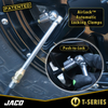 "Lightning™ Tire Air Chuck (T-Series) | Open Flow, 1/4"" F-NPT"