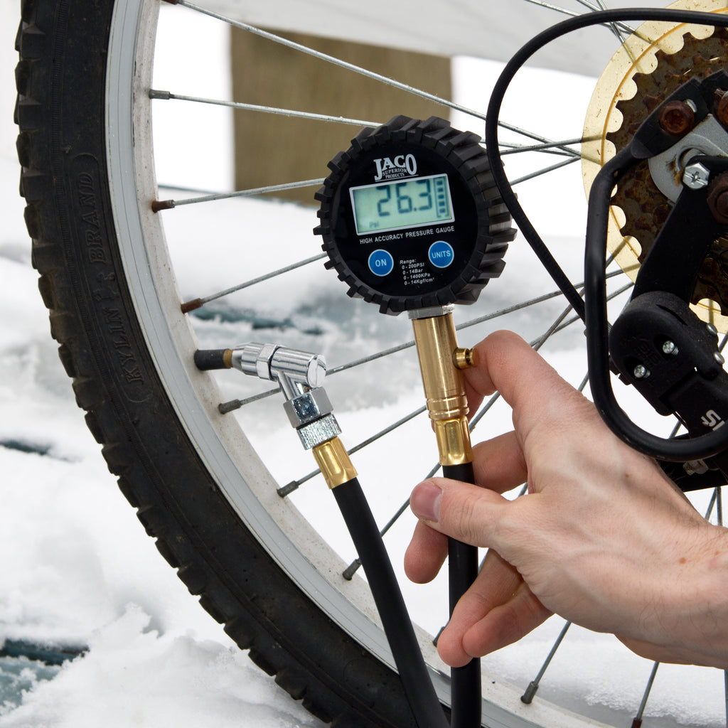 ElitePro™ Digital Tire Pressure Gauge - 200 PSI | Professional Accuracy