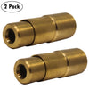 "Bike Presta Tire Air Chuck - 1/4"" NPT (2 Pack)"