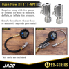 "Lightning™ Tire Air Chuck (S2-Series) | Open Flow, 1/4"" F-NPT (2 Pack)"