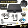 "Lightning™ Tire Air Chuck Starter Kit - Patented | Open Flow, 1/4"" F-NPT (Set of 7)"