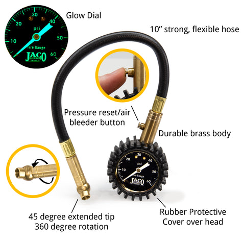 ElitePro™ Tire Pressure Gauge - 60 PSI