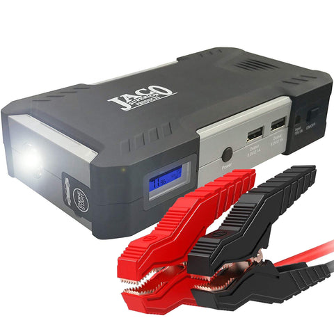 BoostPro™ Portable Car Battery Jump Starter - Power Bank - 600A/165