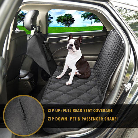 Awesome Protectpro Dog Car Seat Cover Heavy Duty Waterproof And Scratch Proof Back Seat Protector Travel Pet Hammock For Car Truck And Suv Frankydiablos Diy Chair Ideas Frankydiabloscom