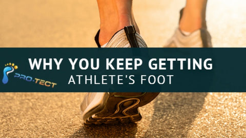 The Reasons You May Be Coming Down With Athlete's Foot