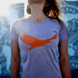 Orange Bird T-Shirt – Women's