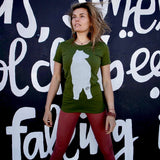 Green Bear T-Shirt – Women's