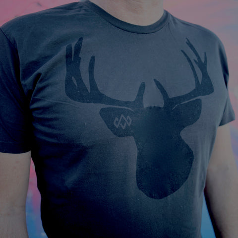 Stag Horn (night) T-Shirt – Men's