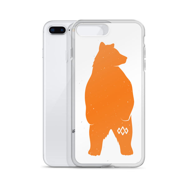 iPhone Orange Bear Case