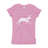 Reindeer girl's t-shirt