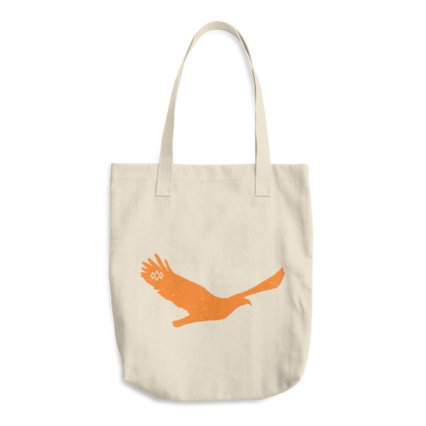 Eagle cotton tote bag
