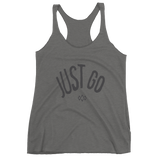 Just Go women's racerback tank
