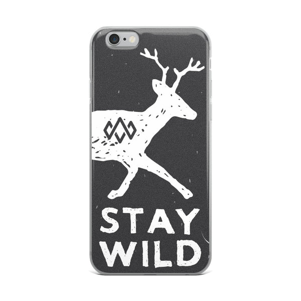 iPhone Stay Wild Case