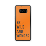 Samsung Orange Be Wild Case