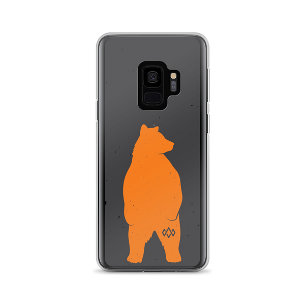 Samsung Orange Bear Case