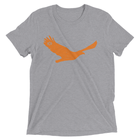 Orange Eagle short sleeve t-shirt