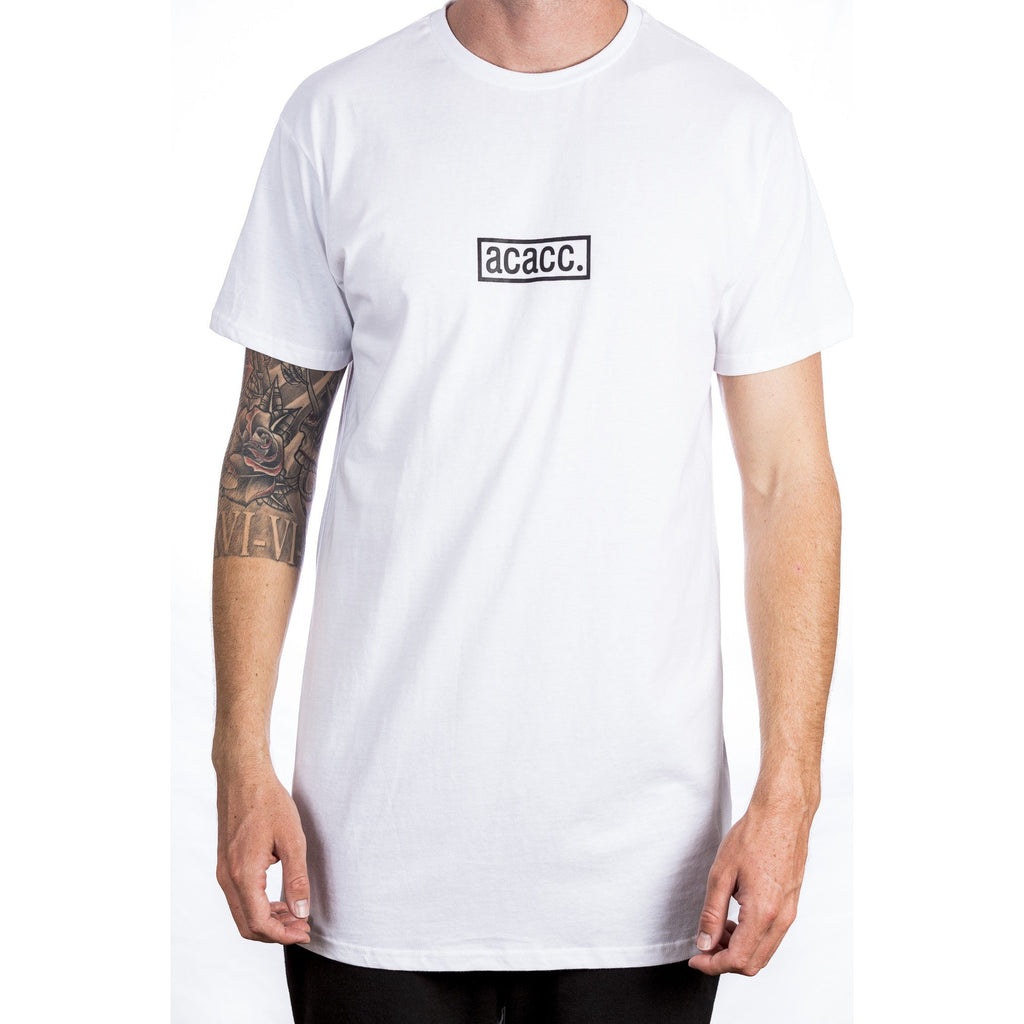 Imprint Tall Tee - White Front