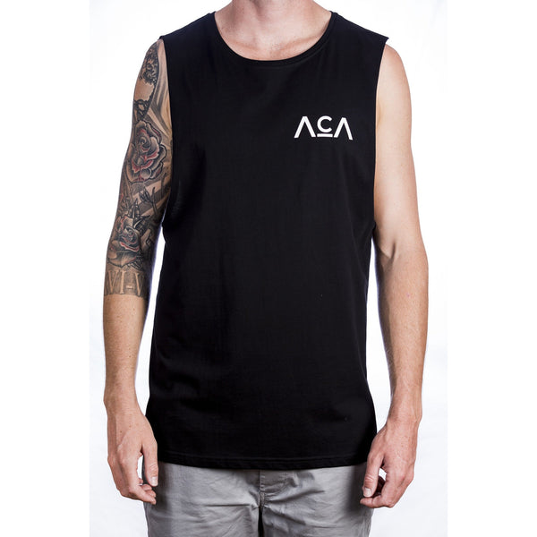 The Beginning Tank - Black Front