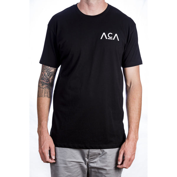 The Beginning Tee - Black Front