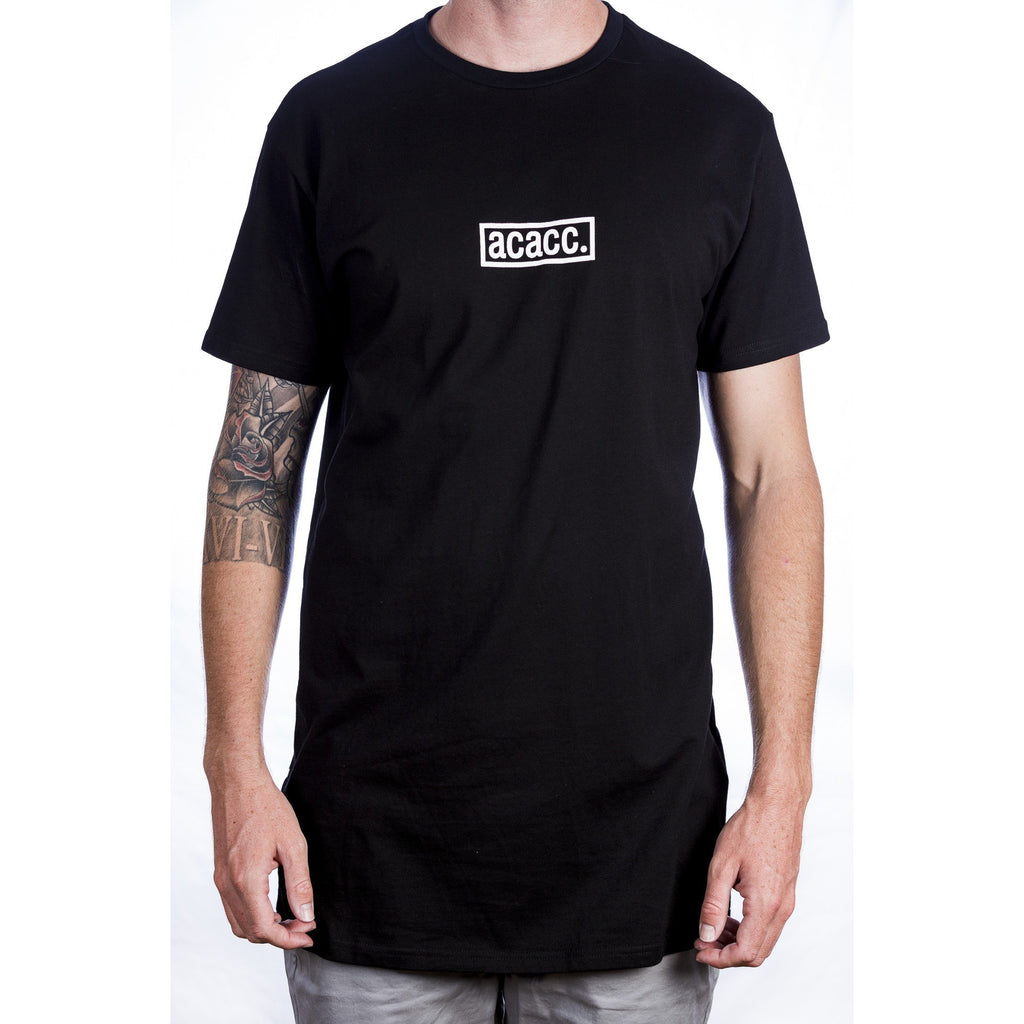 Imprint Tall Tee - Black Front