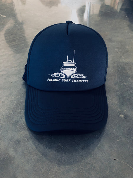 Trucker Cap - Navy / White