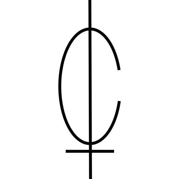 C Logo Decal