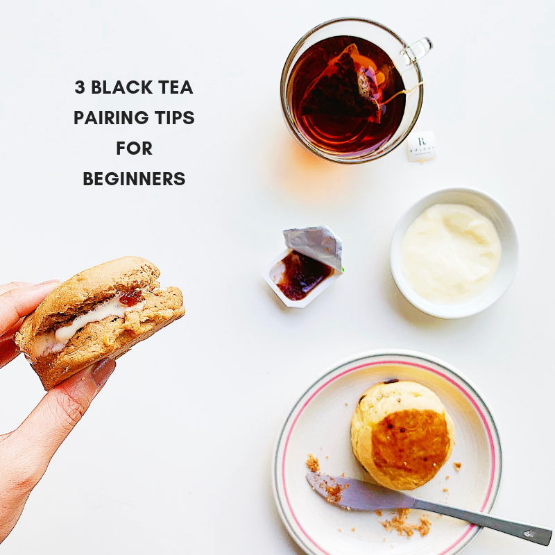 3 Black Tea Pairing Tips for Beginner