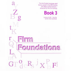 Firm Foundations: Book 3