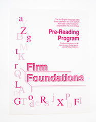 Firm Foundations: Pre-reader