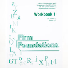Firm Foundations: Workbook 1 (Digital Download)