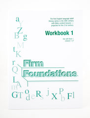 Firm Foundations: Workbook 1