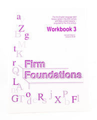 Firm Foundations: Workbook 3