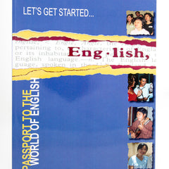 PASSPORT TO THE WORLD OF ENGLISH BOOK 1: LET'S GET STARTED (Digital Download)