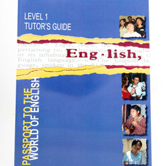 PASSPORT TO THE WORLD OF ENGLISH: LEVEL ONE TUTOR'S GUIDE (Digital Download)