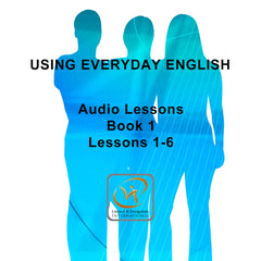 USING EVERYDAY ENGLISH BOOK 1: TODAY audio (MP3 Download)
