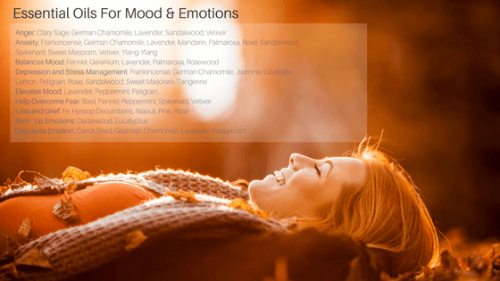 Essential oils that balance mood and emotions