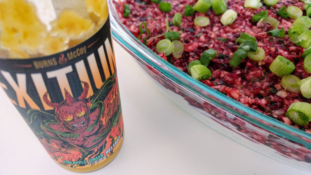 Exitium Cranberry Cream Cheese Dip