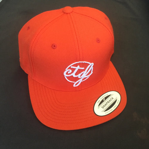 CTGL CAP - ORANGE/WHITE