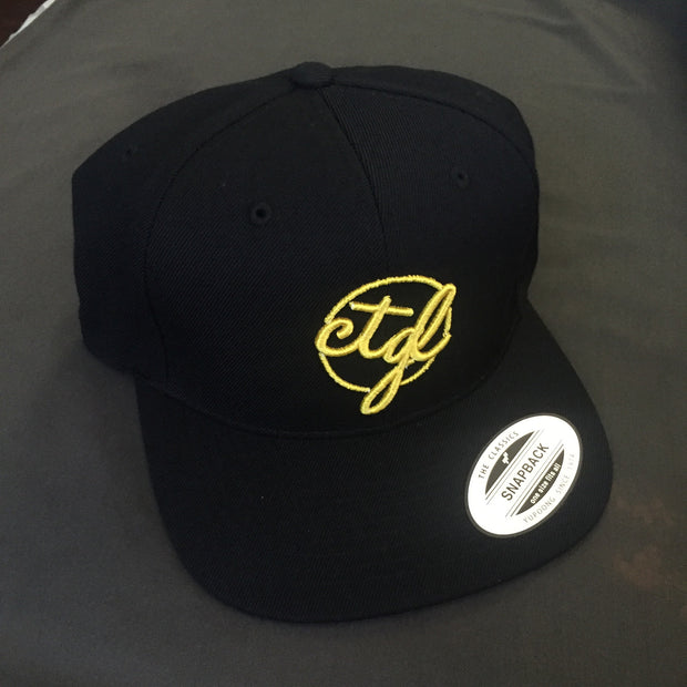 CTGL CAP - BLACK/YELLOW