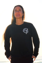 FOLLOW DREAMS SWEATER - BLACK UNISEX
