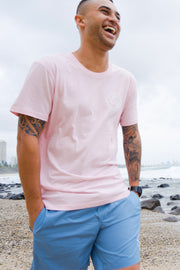 + NEW + CHASE TEE - PINK