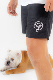CTGL BEACH SHORTS - BLACK