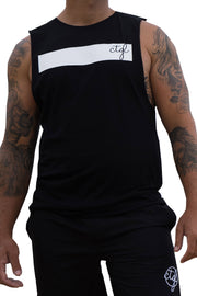 + NEW + FOLLOW DREAMS TANK - BLACK