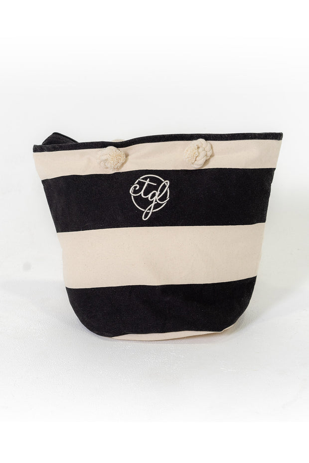 CTGL BEACH BAG - BLACK