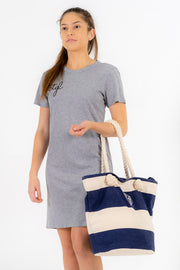 CTGL BEACH BAG - NAVY