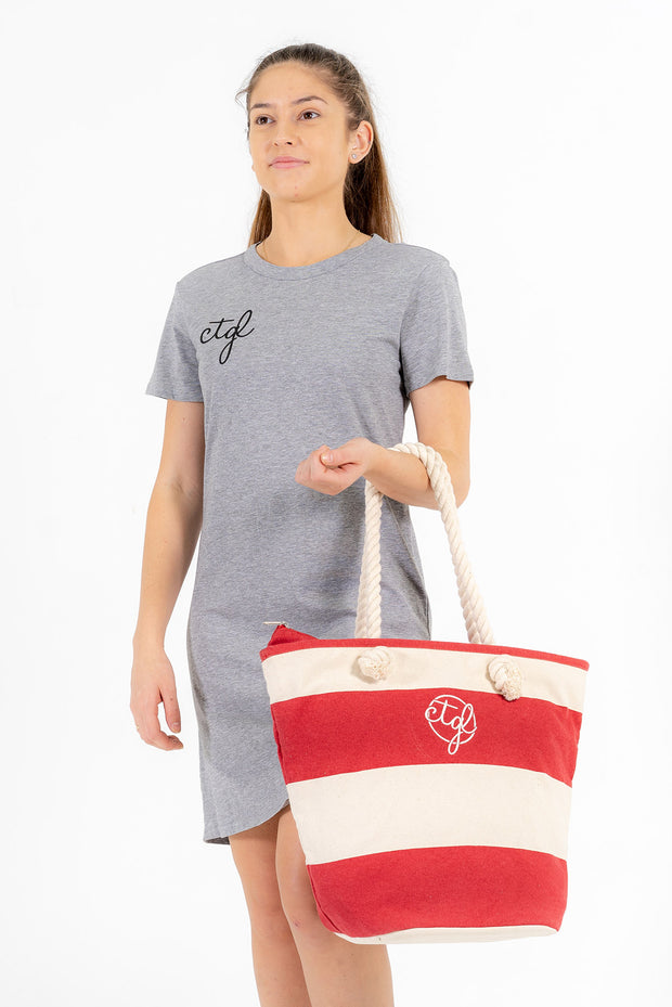 CTGL BEACH BAG - RED